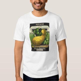 Vintage Seed Packet Label Art, Summer Squash Shirt