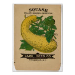 Vintage Seed Packets Posters