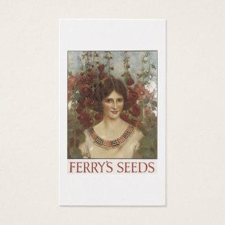 Vintage Seeds Business Card