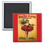 Vintage Sells-Floto Circus Poster Magnet