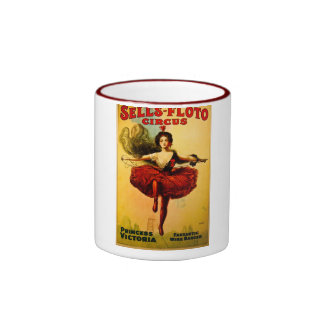 Vintage Sells-Floto Circus Poster Ringer Coffee Mug