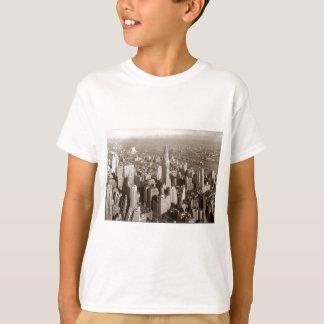 Vintage Sepia Tone New York T-Shirt