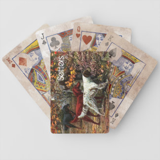 Vintage Setters Playing Cards