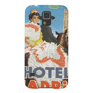 Vintage Sevilla Spain Hotel Galaxy S5 Cover