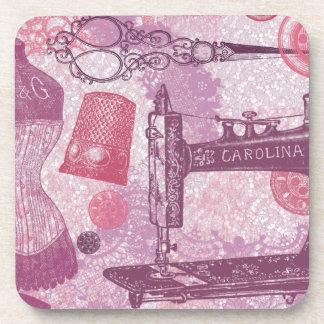 Vintage Sewing Coasters