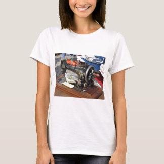 Vintage sewing machine at flea market T-Shirt