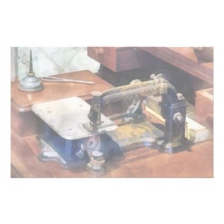 Vintage Sewing Machine Circa 1850 Stationery