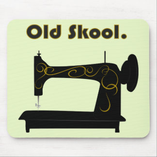 Vintage Sewing Machine Mousepad Mousepad