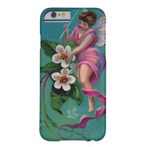 Vintage Sewing Needle Flower Fairy iPhone 6 Case
