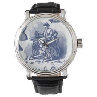 Vintage Sewing Toile Wristwatches