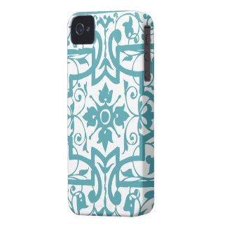 Vintage shabby and chic art nouveau iPhone 4 Case-Mate case