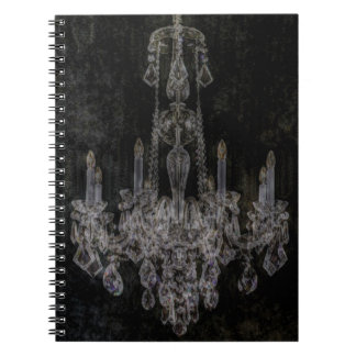 Vintage Shabby Chic Chandelier Note Books