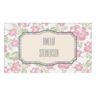 vintage,shabby chic,floral,retro,cute,girly,label, name tag