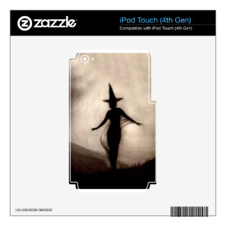 Vintage Shadow Witch iPod Touch 4G Skins