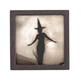 Vintage Shadow Witch Jewelry Box