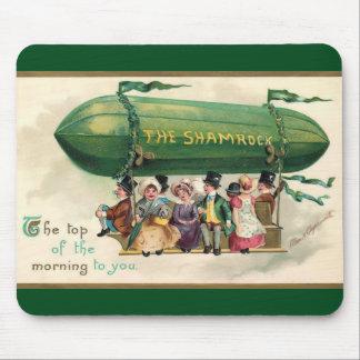 Vintage Shamrock Mouse Pad