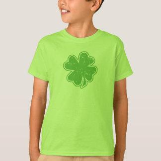 Vintage Shamrock St. Patrick's Day Kids T-Shirt