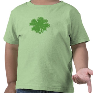 Vintage Shamrock St. Patrick's Day Toddler T-Shirt