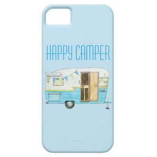 Vintage Shasta Camper Trailer iPhone Case