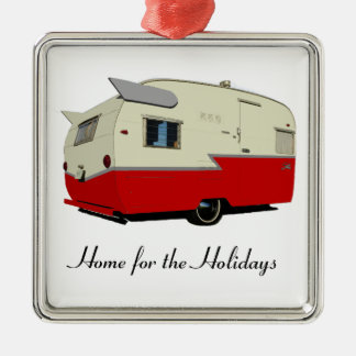 Vintage Shasta Home for the Holidays Ornament