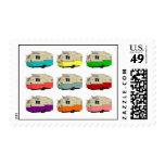 Vintage Shasta Pop Art Postage Stamps