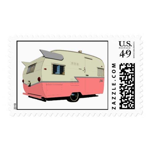Vintage Shasta Postage Stamps