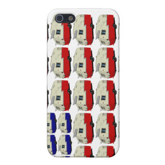 Vintage Shasta Trailer American Flag iPhone Case