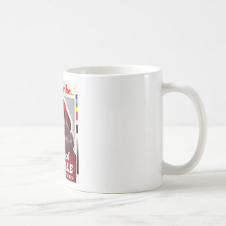 """Vintage """"She May Be a Bag of Trouble"""" Coffee Mug"""