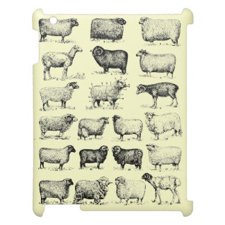 Vintage Sheep iPad Covers