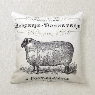 Vintage Sheep Pillow