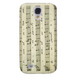 Vintage Sheet Music, Antique Musical Score 1810 Galaxy S4 Covers