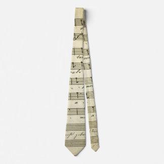 Vintage Sheet Music, Antique Musical Score 1810 Tie