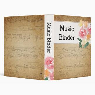 Vintage Sheet Music Binder
