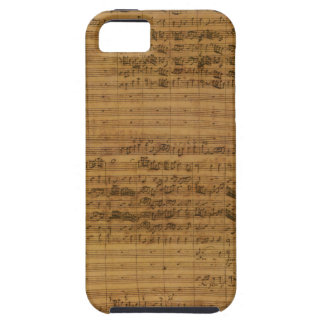 Vintage Sheet Music by Johann Sebastian Bach iPhone SE/5/5s Case