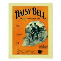 Vintage Sheet Music Daisy Bell Cover Copy