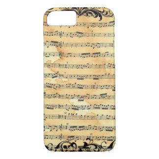 Vintage Sheet Music iPhone 7 Case