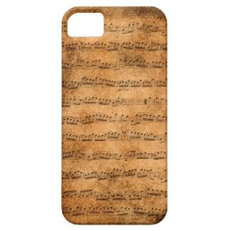 Vintage sheet music iPhone SE/5/5s case
