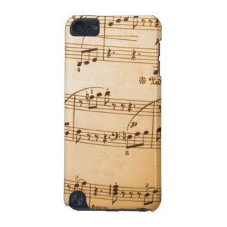 Vintage Sheet Music iTouch Case