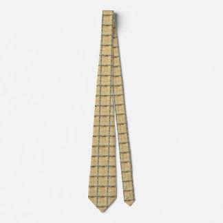 Vintage Sheet Music Neck Tie