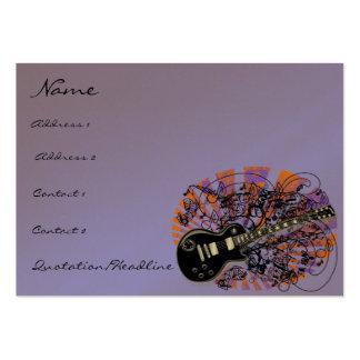Vintage Sheet Music Rock N Roll Business Card