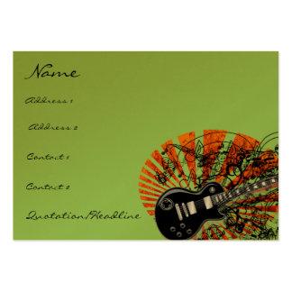Vintage Sheet Music Rock N Roll Business Cards