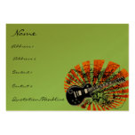 Vintage Sheet Music Rock N Roll Business Card Templates