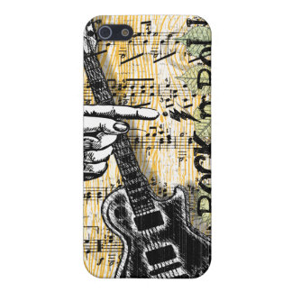 Vintage Sheet Music Rock N Roll Cover For iPhone SE/5/5s