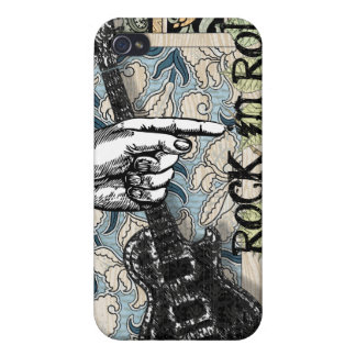Vintage Sheet Music Rock N Roll iPhone 4/4S Case