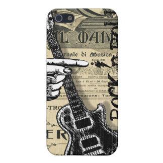 Vintage Sheet Music Rock N Roll iPhone 5 Case