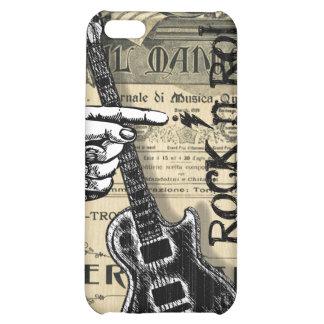 Vintage Sheet Music Rock N Roll iPhone 5C Case