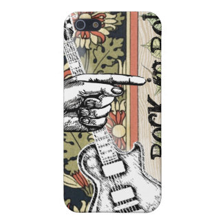 Vintage Sheet Music Rock N Roll iPhone SE/5/5s Case