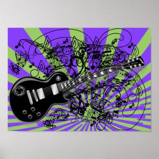 Vintage Sheet Music Rock N Roll Posters
