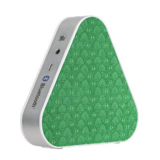 Vintage Shells Green Seashells Bluetooth Speaker