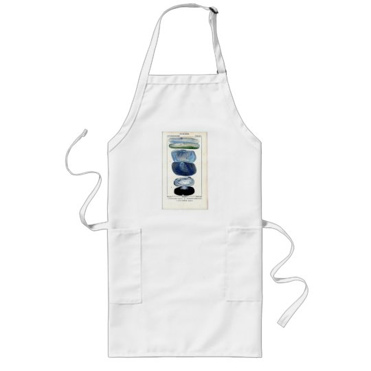 Vintage Shells Long Apron